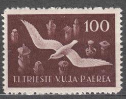 Italy Yugoslavia Trieste Zone B 1949 Airmail Mi#11 Sassone#9 Mint Never Hinged - Mint/hinged
