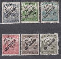 Hungary Banat Bacska 1919 Mi#6-11 Mint Hinged - Banat-Bacska