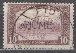 Fiume 1918/1919 Mi#25 Sassone#21 Used - Fiume