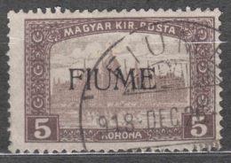 Fiume 1918/1919 Mi#24 Sassone#20 Used - Fiume