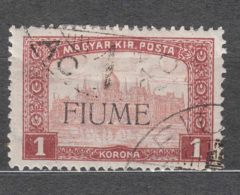 Fiume 1918/1919 Mi#21 Sassone#17 Used - Fiume