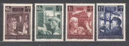 Austria 1951 Mi#960-963 Mint Never Hinged - 1945-.... 2. Republik