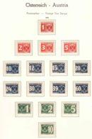 Austria 1935 Porto Mi#159-174 Mint Hinged - Taxe