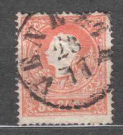 Austria Italy, Lombardy Venezia 1858 Mi#9 Used - 1850-1918 Imperio