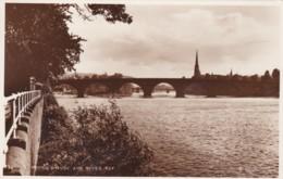 PERTH BRIDGE AND RIVER TAY - Perthshire