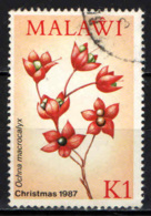 MALAWI - 1987 - CHRISTMAS 87 - USATO - Malawi (1964-...)