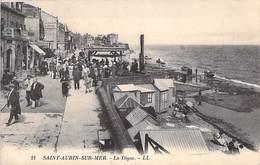 14 - Saint-Aubin Sur Mer - La Digue N° 21 LL - Saint Aubin