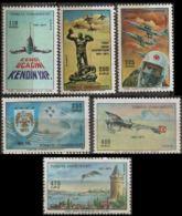 Turkey 1971, 60yr Turkish Air Force 6 Values MNH - Militaria