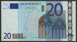 Portugal - 20 Euro - U025 A1 - M89669274286 - Draghi - UNC - 20 Euro