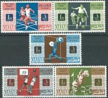 1966-QATAR-Pan Arab Games - Complete SetMNH** - Qatar