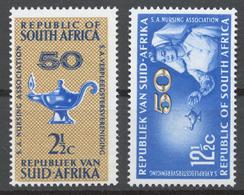 South Africa 1964 Mi# 342-43** SOUTH AFRICAN NURSING ASSOCIATION, 50th ANNIV. - Afrique Du Sud (1961-...)