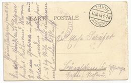 Belgique Belgie Allemagne Carte Postale Feldpost 11.10.1915 Thuin - [OC1/25] Gen.reg.