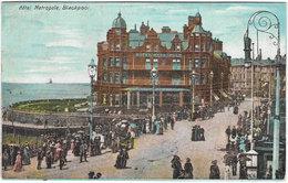 Hotel Metropole BLACKPOOL Early (pre 1914) Colour Card Unused [P0079/1D] - Blackpool