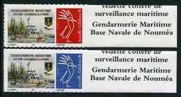 """Timbres** De 2017 Autocol. En Bord De Feuille """"Gendarmerie Maritime : VCSM """"DUMBEA"""" P606"""" - Nouvelle-Calédonie"""