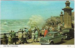 High Tide At Blackpool, Posted 1970 (Saidman Bros KBL184) [P0080/1D] - Blackpool