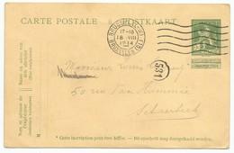 Belgique Belgie Allemagne Entier Postal 18.08.1914 Bruxelles 14 Jours Après L'invasion Allemande - Guerre 14-18