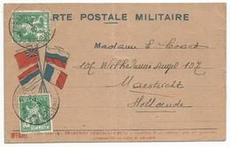Belgique Belgie Allemagne Carte Postale Militaire 1915 - Army: Belgium