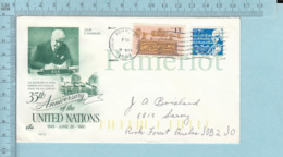 Art Kraft Envelope Cachet, 2 Envelopes, USA Stamps: Skylab , Sound Recording, B. Frankland - Etats-Unis