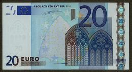 Portugal - 20 Euro - U004 E4 - M32308159585 - Duisenberg - UNC - EURO