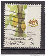 Malaysia, Malaysie, Cacao, Cocoa, Koko, Agriculture, Armoiries, Coat Of Arms - Food