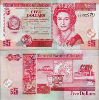 Belize 2015 - 5 Dollars - Pick 67f  UNC - Belize