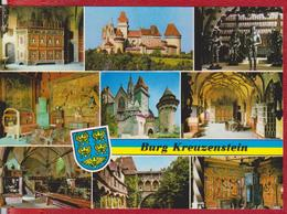 BURG KREUZENSTEIN AUSTRIA POSTCARD UNUSED - Korneuburg