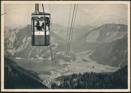 Germany Austria 1944 Salzkammergut Höllengebirge Seilbahn Cableway Cable Car Téléphérique Ebensee Postcard Österreich - Postcards