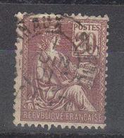 """FRANCE      Mouchon  N° 113 (1900) D'autres Specimen Dans La Galerie """"1900-1920"""" - 1900-02 Mouchon"""
