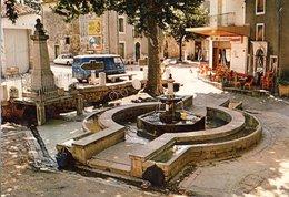 Saint Martin De Londres La Place Et Sa Fontaine  CPM Ou CPSM - Autres Communes