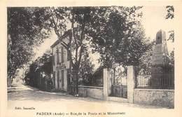 10 PADERN RUE DE LA POSTE ET LE MONUMENT - France