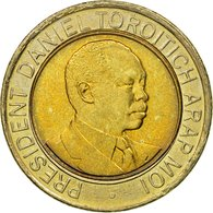 Monnaie, Kenya, 20 Shillings, 1998, British Royal Mint, TTB, Bi-Metallic, KM:32 - Kenya