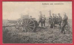 Leopoldsburg (Kamp De Beverloo) -  Artillerie Aux Manoeuvres ( Verso Zien ) - Leopoldsburg (Kamp Van Beverloo)