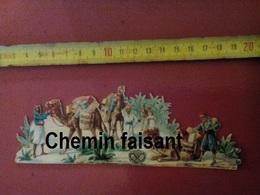 Chromo-découpis Chocolat SUCHARD - Scène Orientaliste  - Scans  Recto-verso - Other
