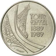 Monnaie, France, Tour Eiffel, 5 Francs, 1989, Paris, TTB, Nickel, Gadoury:772 - France