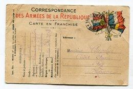 CPA Militaria  :  Franchise Militaire  1915 Pour Chevalier à Fez  VOIR  DESCRIPTIF  §§§ - War 1914-18
