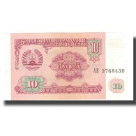 Billet, Tajikistan, 10 Rubles, 1994, 1994, KM:3a, NEUF - Tadjikistan