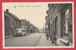 Ploegsteert -Bizet - Frontière Franco-Belge ... Ancien Autobus ( Voir Verso ) - Comines-Warneton - Komen-Waasten