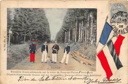 54 FRONTIERE FRANCE ALLEMANDE SUR LA ROUTE DE RAON SUR PLAINE - Customs