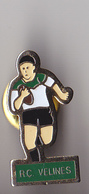 PIN'S THEMESPORT  RUGBY  CLUB DE VELINES  EN DORDOGNE - Rugby