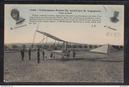 1506 AV60 AK PC CPA AEROPLANE FERBER IX MONTE PAR M LEGAGNEUX VUE AVANT NC TTB - ....-1914: Precursori