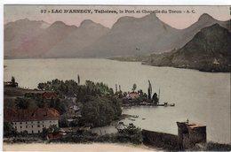 Talloires Le Port Et Chapelle Du Toron - Talloires