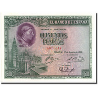 Billet, Espagne, 500 Pesetas, 1928, 1928-08-15, KM:77a, SPL - [ 1] …-1931 : Prime Banconote (Banco De España)