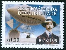 BRAZIL# - AIRSHIP  - MONTGOLFIÈRE - MINT   - 1999 - Brazil