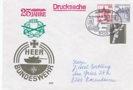 Germany Cover From 25 Jahre Heer Schule Technische Truppe 1 In Aachen P/m Aachen 1982 Tag Der Offenen Tür(DD6-48) - Militaria