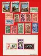 Lot De 15 Timbres 1 Bloc CAMEROUN REPUBLIQUE FEDERALE DU CAMEROUN Neufs Xx - Collections (without Album)