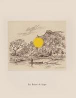 Gravure De Jean Müller  LES RUINES DE LOGNE ( Ferrières ) - Vieux Papiers
