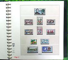 WALLIS FUTUNA De 1955/66 à 1991 En Album Linder 444 - Timbres Neufs ** (MNH) Sans Trace Charniere (A Voir 8 Scans) - Collections, Lots & Séries