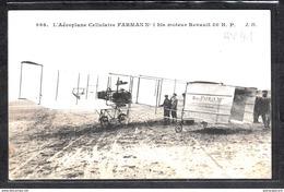 1490 AV037 AK PC CPA L AEROPLANE CELLULAIRE FARMAN N 1 NON ECRITE TTB - ....-1914: Precursori