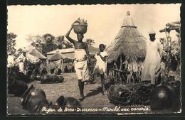 CPA Bobo-Dioulasso, Marché Aux Canaris - Postcards