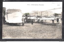 1492 AV043 AK PC CPA ISSY LES MOULINEAUX L AEROPLANE FARMAN 13 JANVIER 1908 NON ECRITE TTB - ....-1914: Precursori